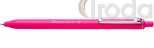 Pentel iZee nyomógombos golyóstoll 0.35mm rózsaszín BX467-P