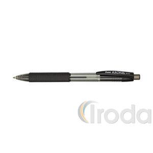 Pentel Golyóstoll Kachiri 0,35mm fek BK457A-A, háromszög fogózóna