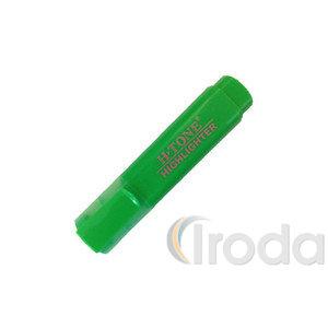 Szövegkiemelő H-Tone zöld, lapostestű