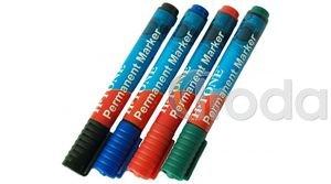 Alkoholos filctoll kék 1,5-3mm vastag, kerek hegyű