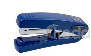 Tűzőgép SAX 519 FlatClinch kék max.20laphoz, kapocs:No.10