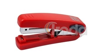 Tűzőgép SAX 519 FlatClinch piros max.20laphoz, kapocs:No.10