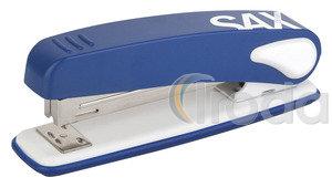 Tűzőgép SAX 249 kék max.25laphoz, kapocs:24/6,26/6