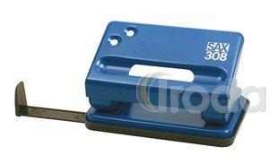 Lyukasztó SAX 308 kék max.15laphoz