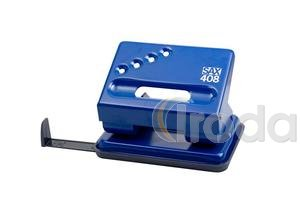 Lyukasztó SAX 408 kék max.30laphoz