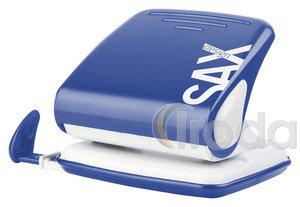 Lyukasztó SAX 418 kék max.25laphoz