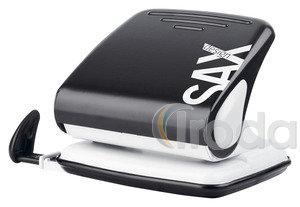 Lyukasztó SAX 418 fekete max.25laphoz