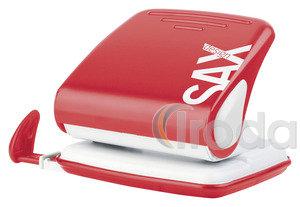 Lyukasztó SAX 418 piros max.25laphoz