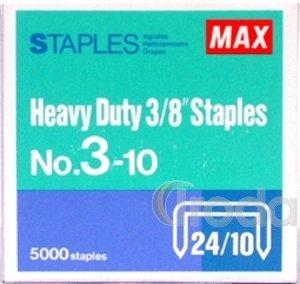 Tűzőkapocs MAX No.3-10 24/10 5000db/doboz