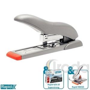 Tűzőgép Rapid HD70 ezüst/narancs max. 70 laphoz 21281405