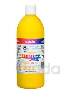 Tempera 500ml barna
