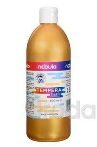 Tempera 500ml arany