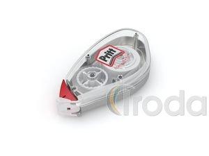 Hibajavító roller Pritt Compact Flex 6 mm x 10 fm eldobható, forgatható fej