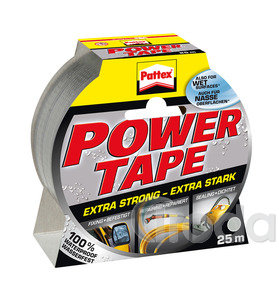 Ragasztószalag Pattex Power Tape 25m EZÜST