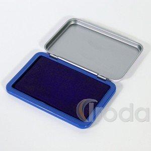Bélyegzőpárna 10,5x7 cm, kék