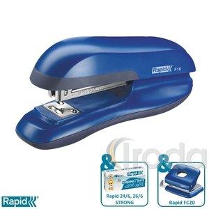 Tűzőgép Rapid F16 vízkék max. 30 laphoz 23810502