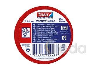 Szigetelőszalag TESA 53947-00, 10m x 15mm, piros
