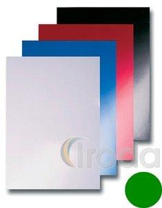 Spirál hátlap Reco Chromolux fényes zöld A4/250gr 100db/csom