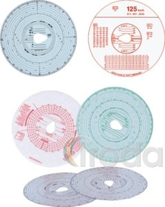 Tachograf papír 180km/h napi, 100db/dob