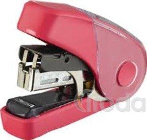 Tűzőgép MAX HD-10FL3, flat-clinch/lapostűzés, 20 lapig, piros