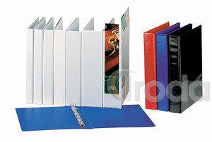 Panorámás gyűrűskönyv Esselte A4 62mm gerinc 4-gyűrűs kék 49762