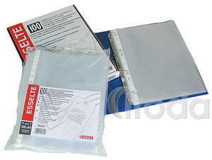 Genotherm lefűzhető Esselte A4/40 mikron 11-lyuk 100db/csomag 56171