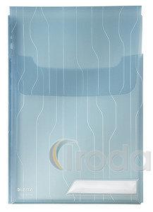 Lefűzhető tasak füllel Leitz Combfile Jumbo kék 3db/csomag 47270035
