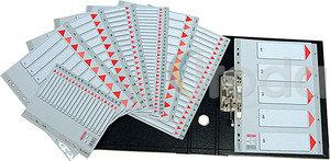 Regiszter műanyag Esselte Maxi 1-31 A4 100127