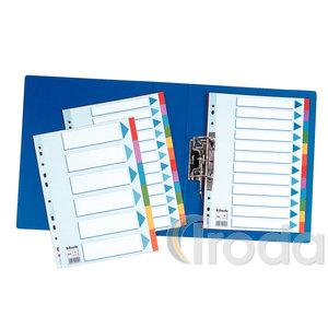 Elválasztólap Esselte Standard A4 karton 6-részes 100192