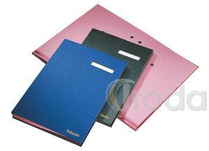 Aláírókönyv Esselte A4 20 részes fekete 621061