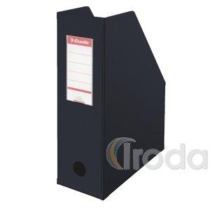 Iratpapucs Esselte 10cm hajtható PVC VIVIDA fekete 56077