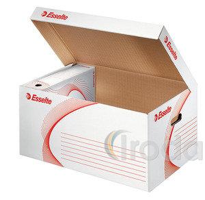 Archiváló konténer Esselte boxy felfelé nyíló tetővel fehér 128900