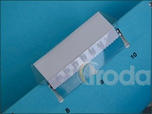 Függőmappa cserecímke tartó Esselte Pendaflex áttetsző 25db/csomag 94514