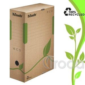 Esselte ECO archiváló doboz, 100 mm, barna 623917