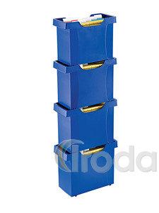 Függőmappa tartó Leitz Plus 20-25 mappához kék 19930035