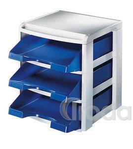 Irattálca Leitz Plus fiókos kék 53270035