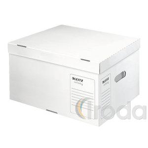 Infinity archiváló és szállítódoboz, L méret, levehető tetővel, savmentes, ISO 16245 61040000