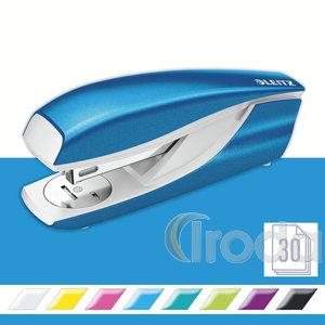 Tűzőgép Leitz 5502 NEXXT metálfényű kék max.30lapig 24/6 kapocs 55021036