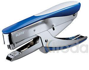 Tűzőgép Leitz 5548 Jumbo kék-króm elöltöltős 55480033