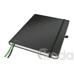 Leitz Complete jegyzetfüzet iPad méret, kockás, fekete 44730095