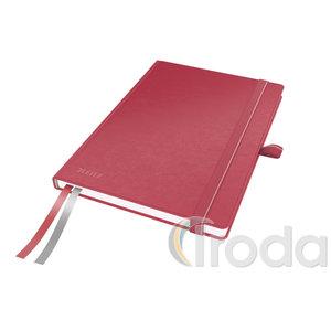 Leitz Complete jegyzetfüzet A5, kockás, piros 44770025