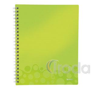 WOW rendszerező spirálfüzet, A4, vonalas, zöld 46420064