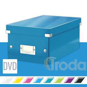 CLICK&STORE DVD-doboz, kék 60420036