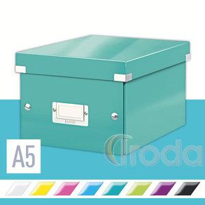 CLICK&STORE A5 méretű doboz, jégkék 60430051
