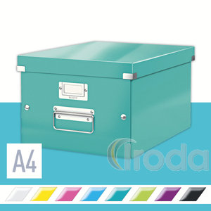 CLICK&STORE A4 méretű doboz, jégkék 60440051