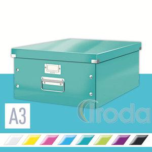 CLICK&STORE A3 méretű doboz, jégkék 60450051
