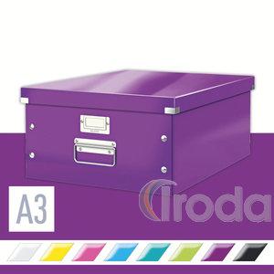CLICK&STORE A3 méretű doboz, lila 60450062