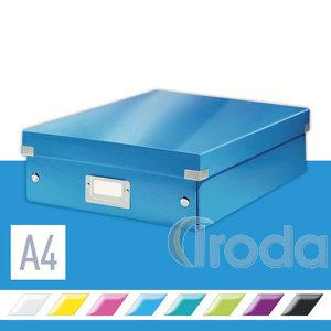 CLICK&STORE rendszerező doboz, M méret, kék 60580036