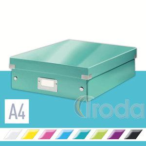 CLICK&STORE rendszerező doboz, M méret, jégkék 60580051