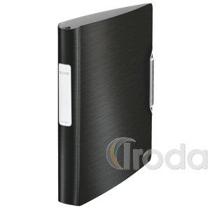 Active STYLE gyűrűskönyv, 30mm, softclick, szaténfekete 42450094